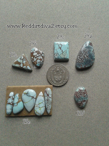 24c. Lavender turquoise - Red River turquoise - Red Dirt Diva