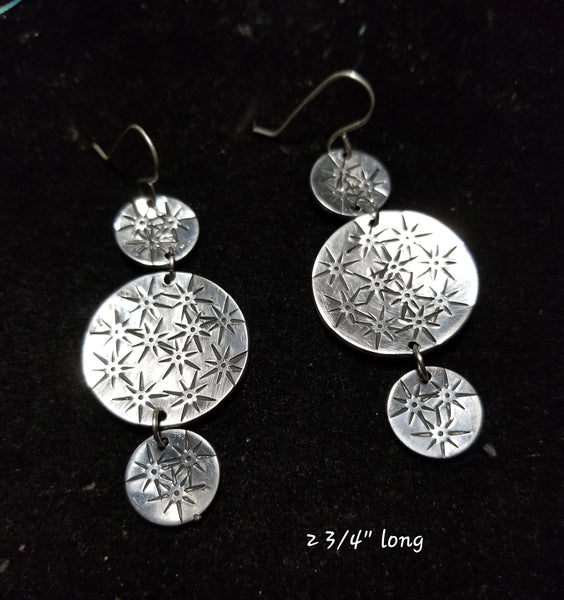 E11. STARDUST bling earrings for everyday - nickle free