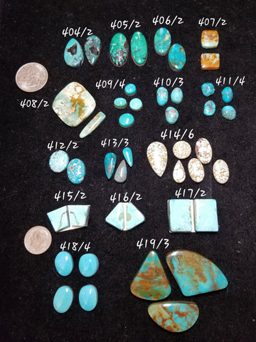 49g. Polychrome turquoise - Red Dirt Diva