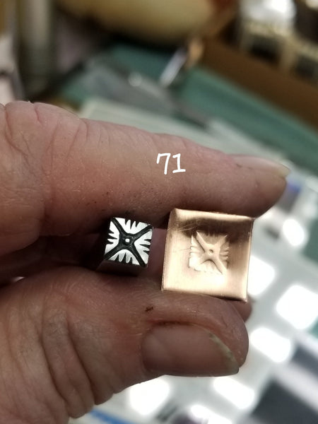 st11. GREAT metal stamps for jewelry - geometric patterns - Red Dirt Diva