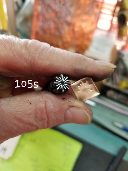UST10. handmade stamps for metal and leather jewelry - easy to stamp with crisp impressions