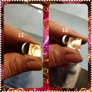 UST2. EASY metal stamps for jewelry - great impressions on metal and leather - handmade in Oklahoma