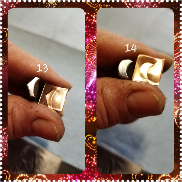 UST2. EASY metal stamps for jewelry - leather stamps - jewelry stamps - metal punch - Red Dirt Diva