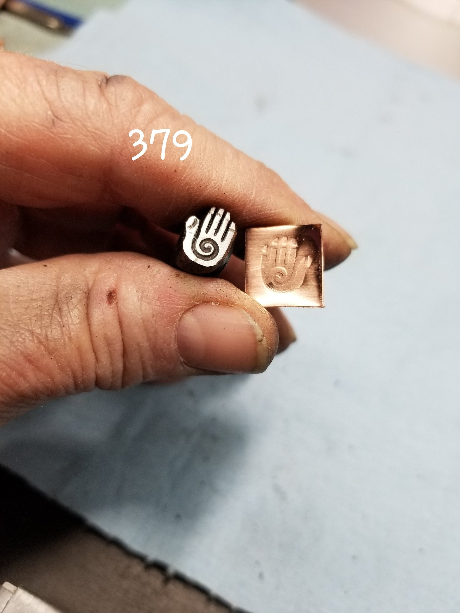 UST43. HEALING metal stamps for jewelry - jewelry stamps - leather stamps - esoteric stamps - Red Dirt Diva