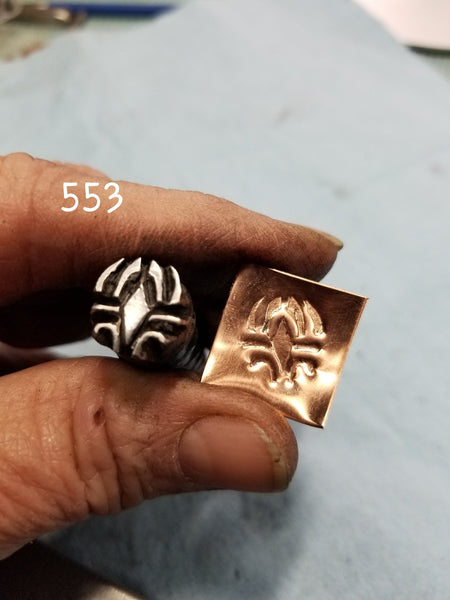 UST63. OOAK handmade stamps for metal and leather jewelry - CRISP impressions