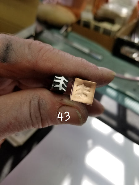 st5. GREAT metal stamps for jewelry - crisp impressions on metal and leather - Red Dirt Diva
