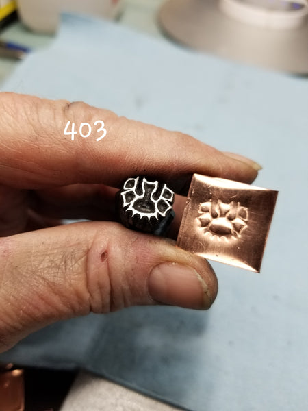 UST48. FANtastic handmade stamps for metal and leather jewelry - crisp impressions