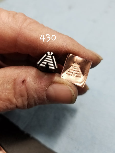 UST52. DOPE metal stamps for jewelry - jewelry stamps - leather stamps - metal punch - Red Dirt Diva