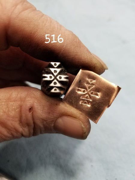 UST61. BOLD metal stamps for jewelry - jewelry stamps - leather stamps - metal punch - Red Dirt Diva