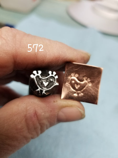 UST65. FOLK ART metal jewelry stamps- farmhouse stamps - leather stamps - metal punch - Red Dirt Diva