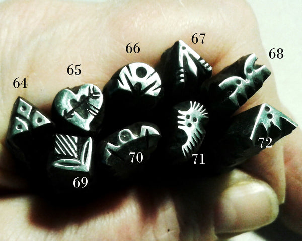 UST5. METAL jewelry stamps - leather stamps - metal stamps - jewelry punch - metal punch