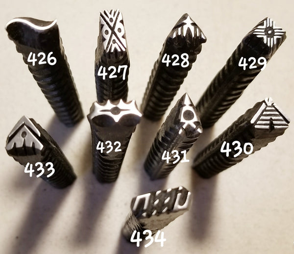 UST52. DOPE metal stamps for jewelry - jewelry stamps - leather stamps - metal punch
