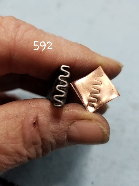 UST67. EXCellent metal stamps for jewelry - great impressions