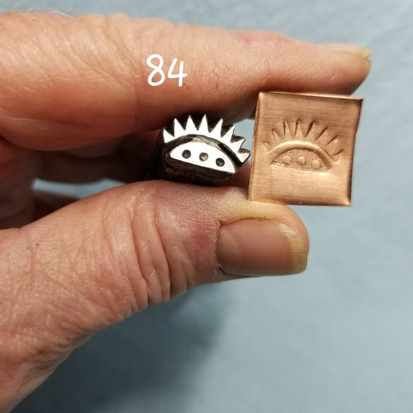 UST7. BOLD metal stamps for jewelry - leather punch - jewelry stamps - tribal stamps