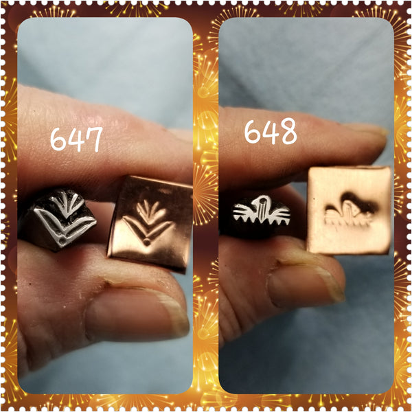 UST72. badass metal stamps for metal and leather jewelry - unique crisp impressions