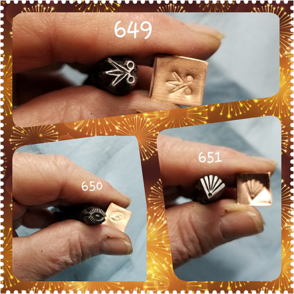 UST72. BADASS metal stamps for jewelry - jewelry stamps - metal punch - leather stamp - Red Dirt Diva