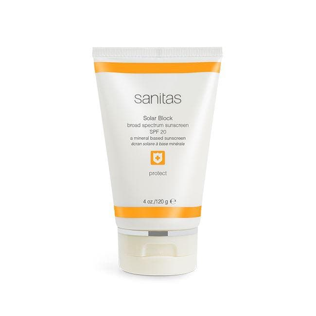 Sanitas Skincare Solar Block Sunscreen SPF 20