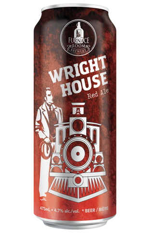 Wright House Red Ale (473ml Can)