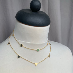 Everyday Triangle Choker Necklace