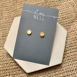 Gold or Silver Dot Studs