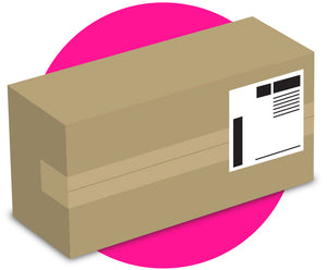 Discreet Packaging and Shipping Labels when you buy the Together™ Couples' Vibrator