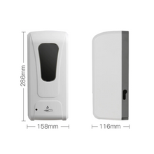 Load image into Gallery viewer, Touchless Hand Sanitizer Spray Dispenser w/ Stand + Refill Bundle
