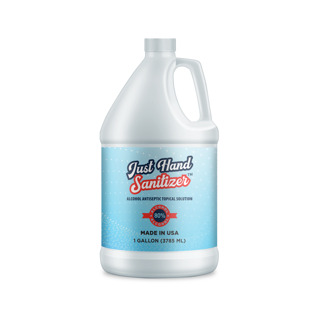 1 Gallon Liquid Hand Sanitizer Refill (Case of 4)