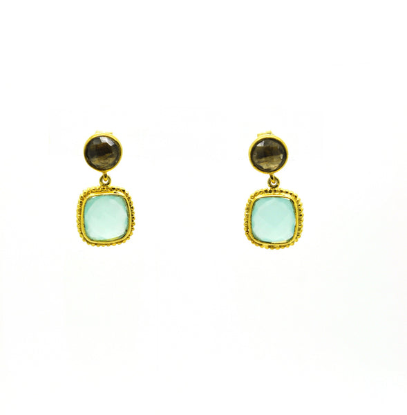 SOLD - ON SALE Smokey quartz earring