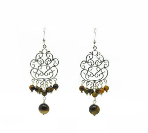 SOLD - 20 in 2020 - Filigree drop earring
