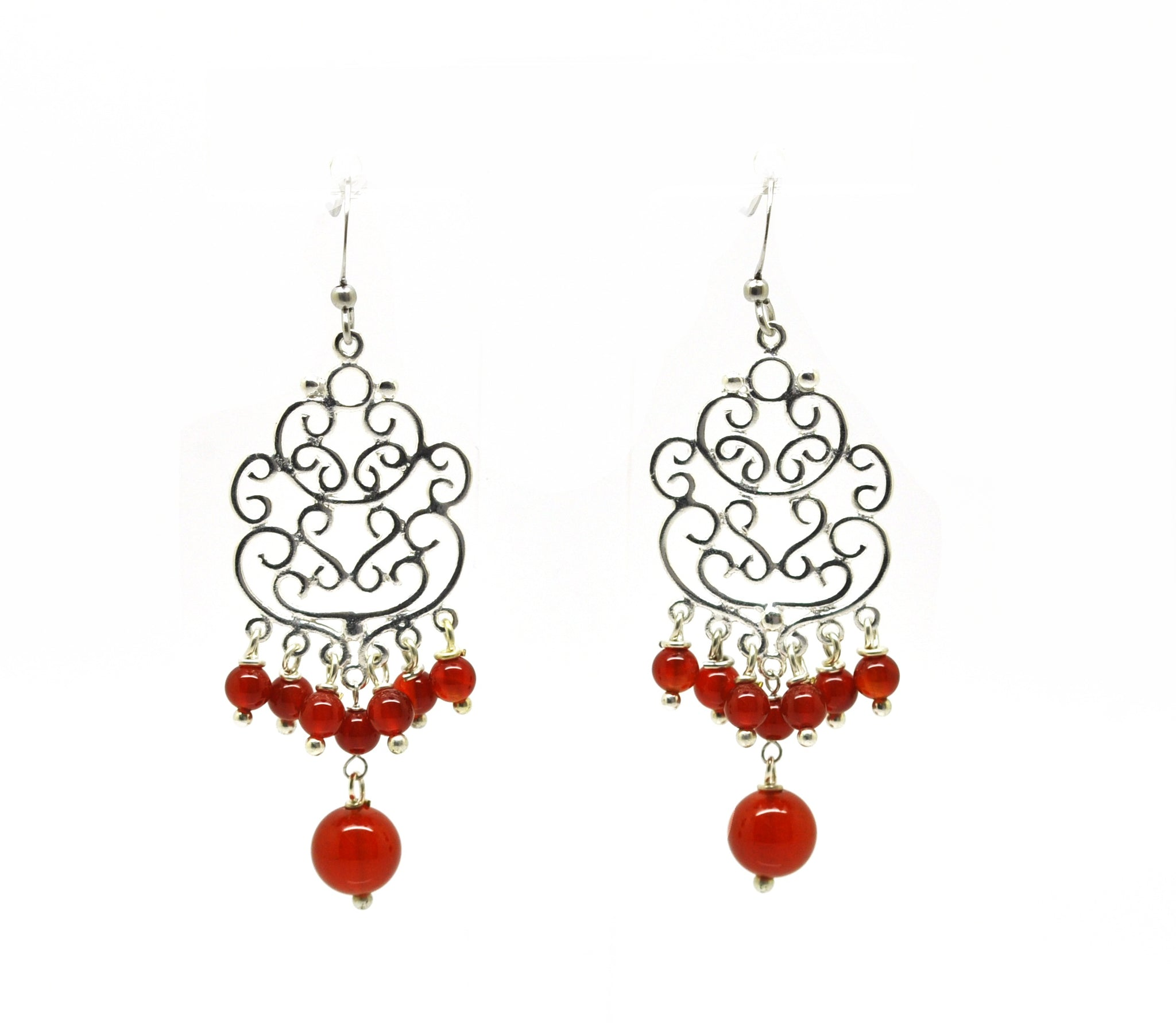 NEW Filigree drop earring 3