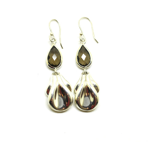 NEW Silver drop earring 6