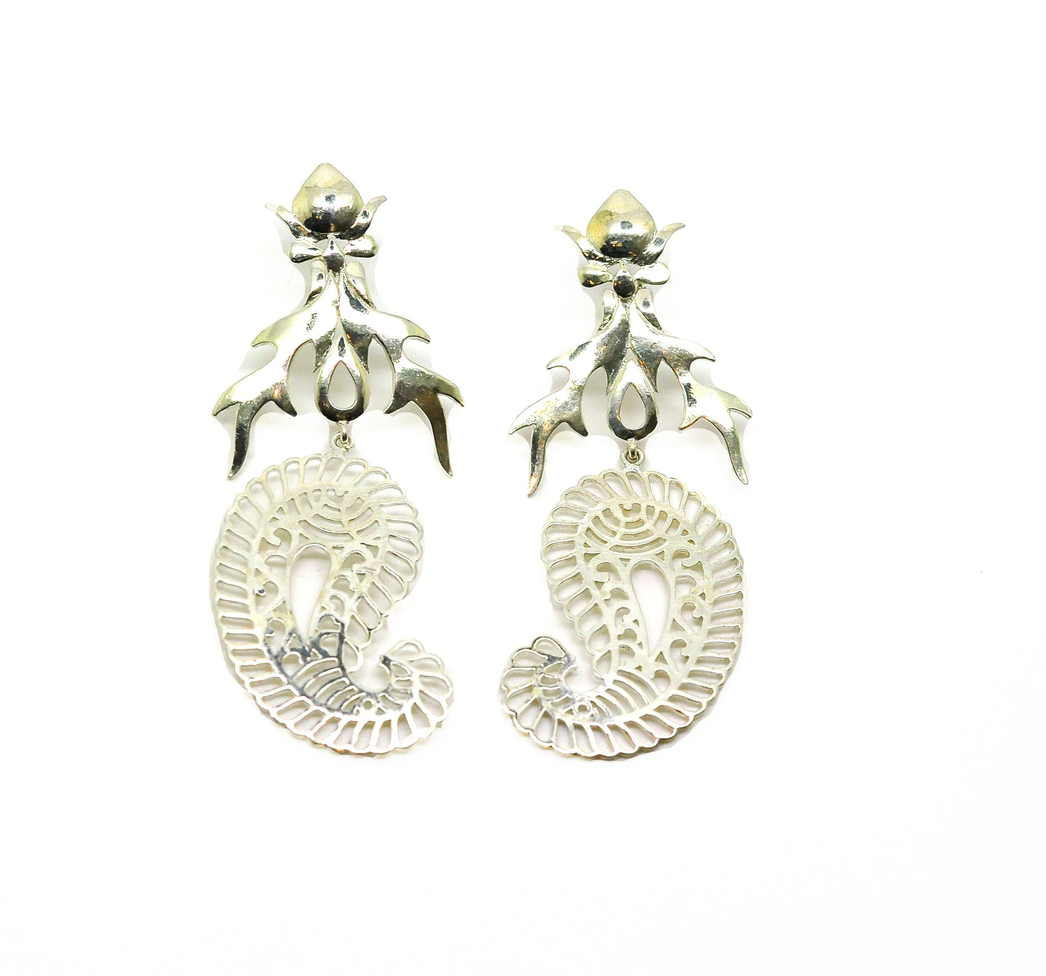 NEW Fire Filigree earring 3