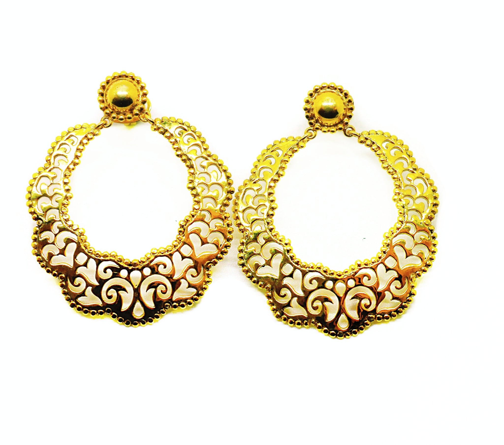 SOLD - NEW Indian filigree 4 - gold