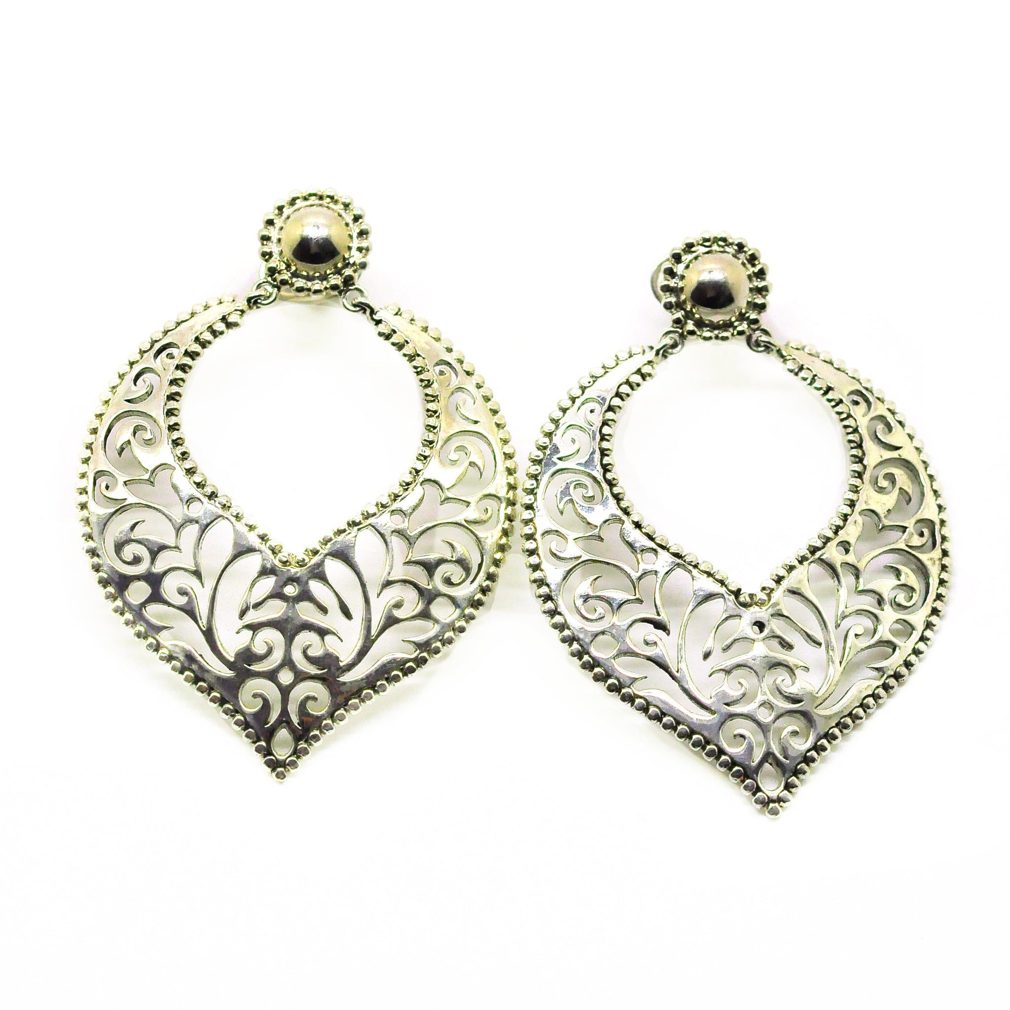 SOLD- ON SALE Indian filigree 5- Silver