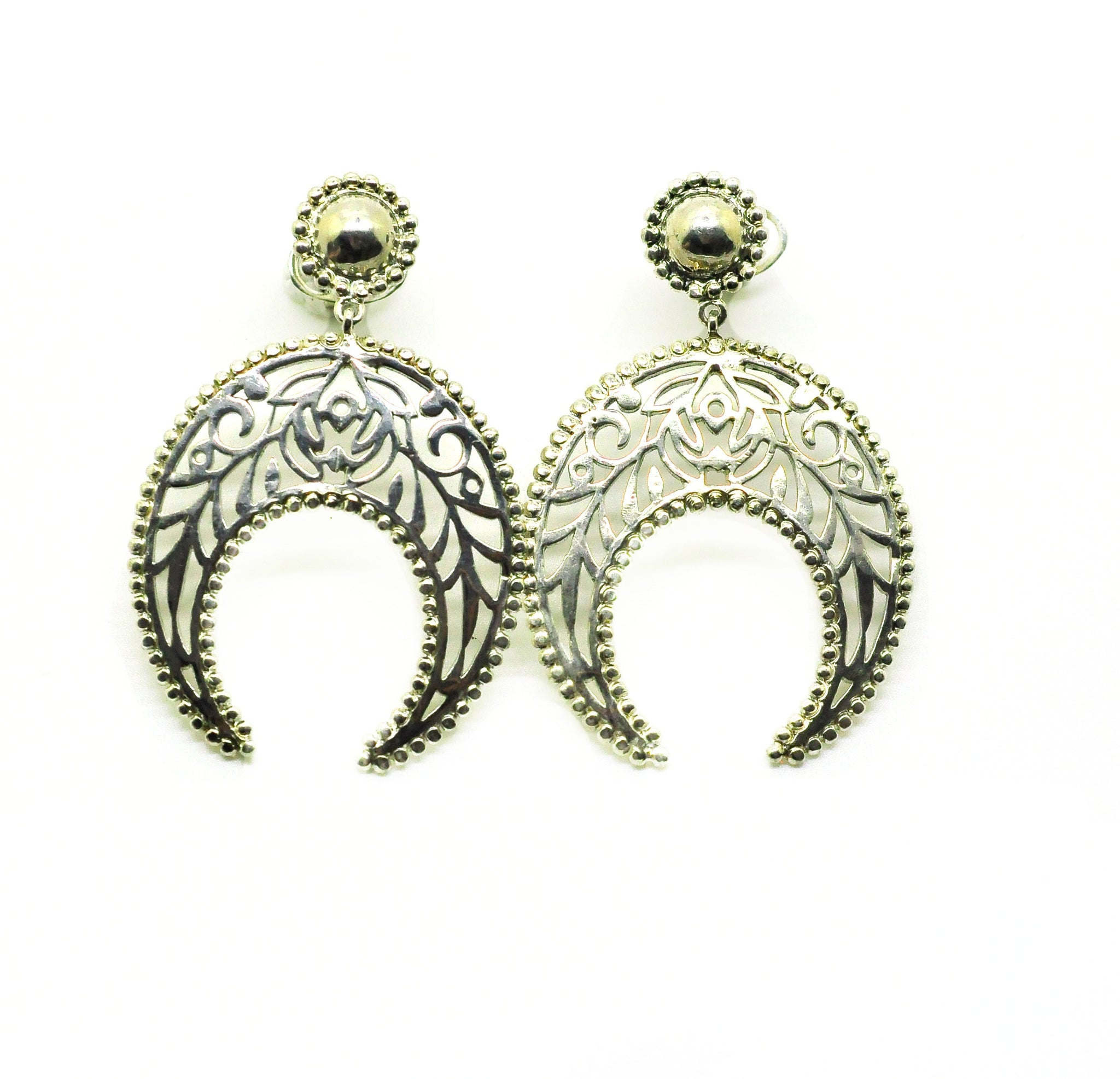 ON SALE Indian filigree 3 - Silver