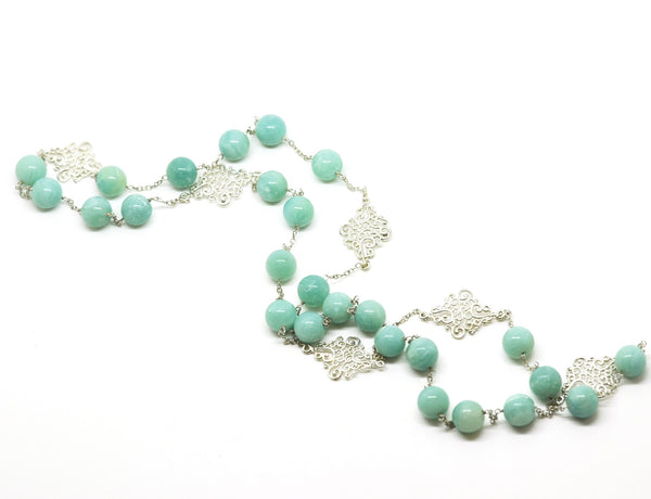 ON SALE Chrysophase necklace 2