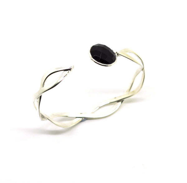 ON SALE twisted cuff - Black (Clearance)