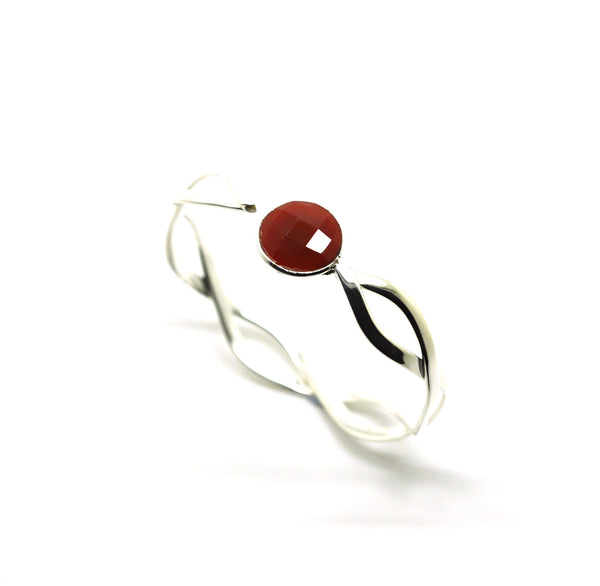 ON SALE Twisted cuff - Red
