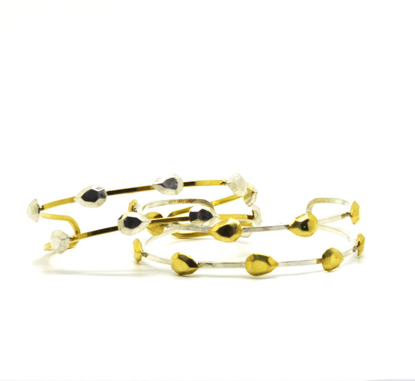 ON SALE Thin two tone cuff 2 (Clearance)