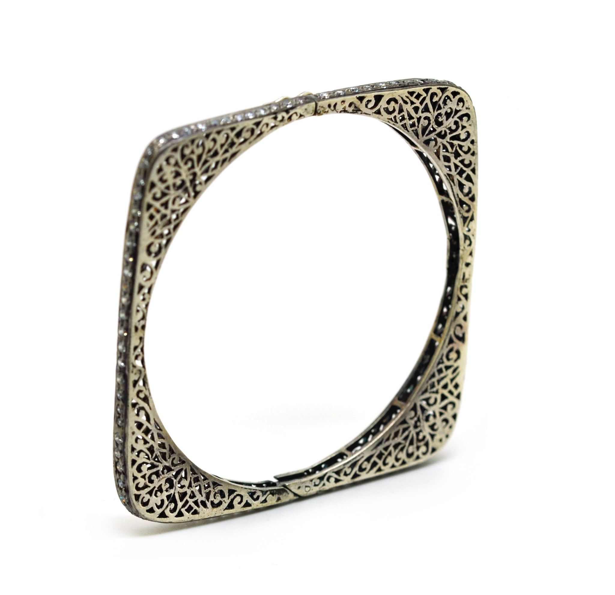 ON SALE -  Filigree thin cuff 2