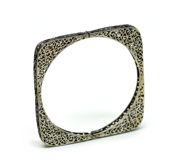 SOLD - NEW Filigree thin cuff 1