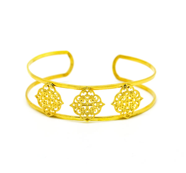 NEW Filigree cuff - Thin Moroccan
