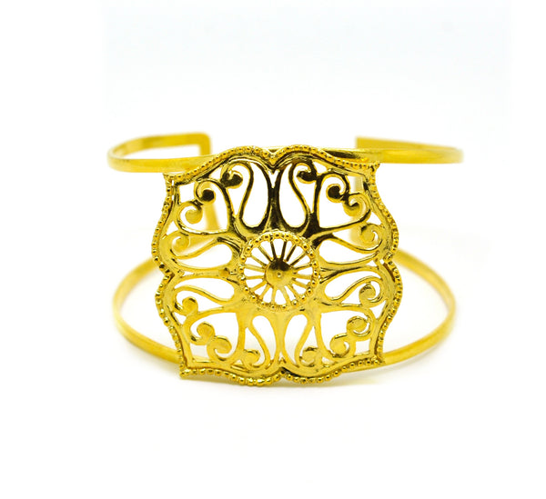 SOLD - NEW Filigree Cuff - Moroccan
