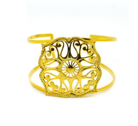 NEW Filigree Cuff - Moroccan