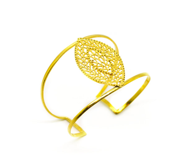 NEW Filigree cuff - marquise