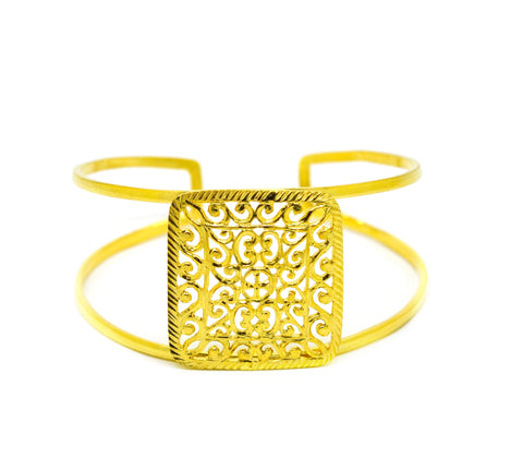 NEW Filigree cuff - Square