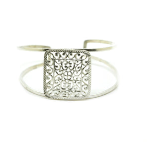 SOLD - NEW Filigree cuff - Square 2