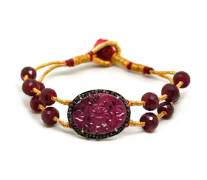 SOLD - NEW Pochi bracelet - Ruby