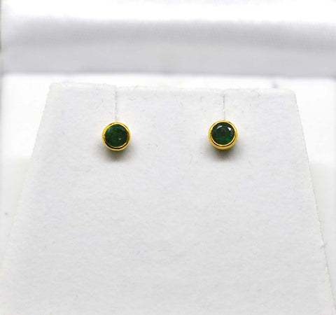 For little ears - Baby Emerald tops