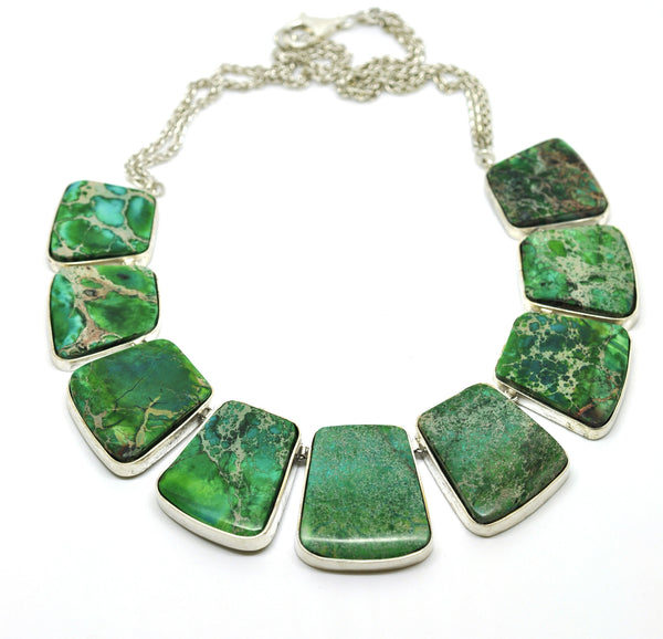 ON SALE Jasper Necklace